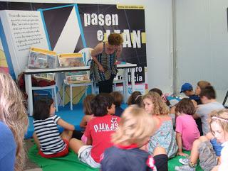 Cuentacuentos y taller en la Feria del Libro de A Coruña