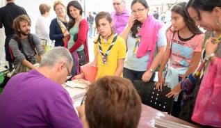 «El Elixir Curalotodo» un éxito de ventas en la Feria del Libro de Las Palmas de Gran Canaria.