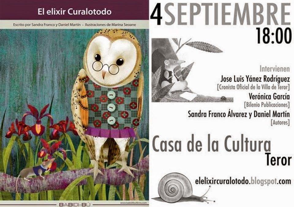 """Presentación realizada por José Luis Yánez Rodríguez del libro """"El Elixir Curalotodo""""."""