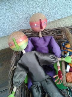 Proceso de mis marionetas clásicas