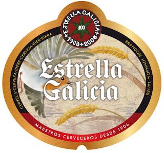Etiquetas realizadas para Estrella de Galicia