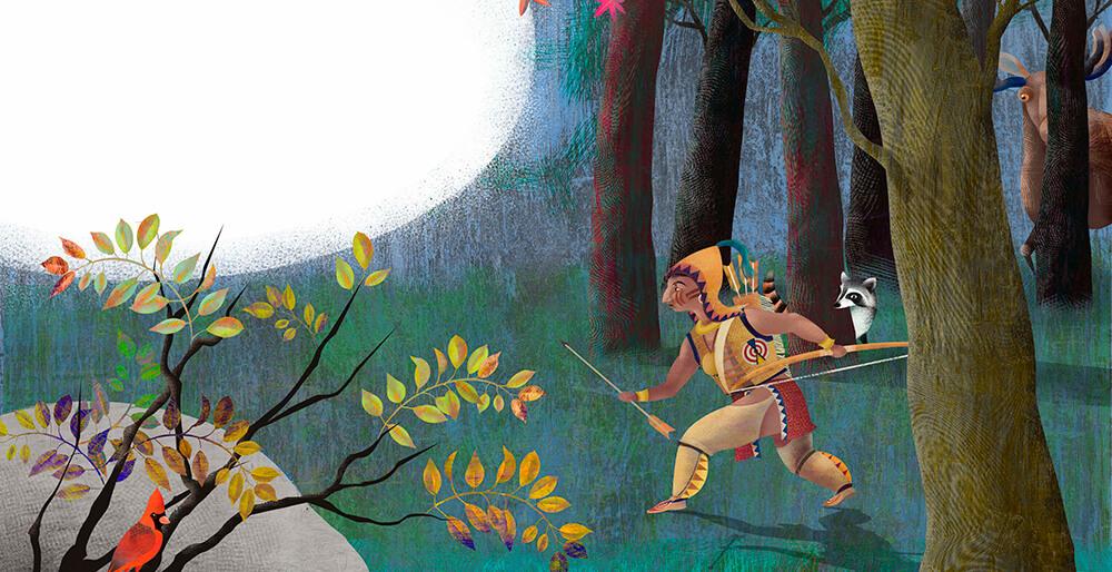 Ilustración Indio
