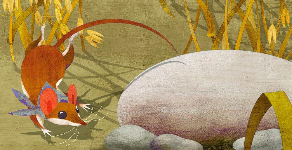 Ilustración ratita