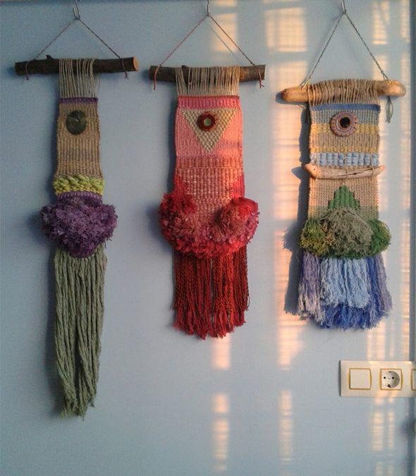 Los pequeños tapices subidos a la TIENDA