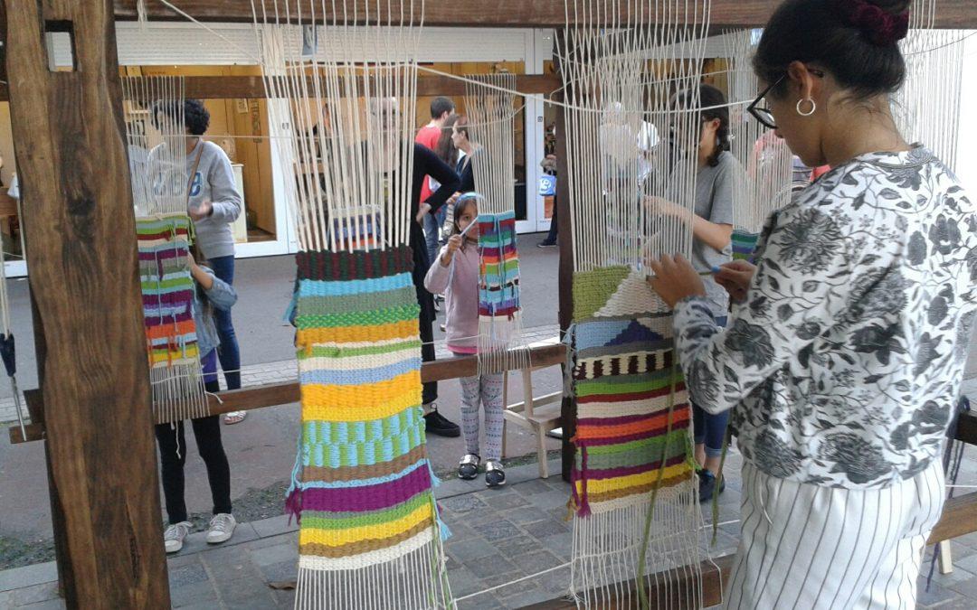 Taller textil en MOSTRART