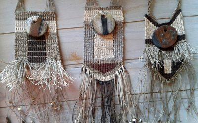 Actualizada la tienda con nuevos colgantes textiles
